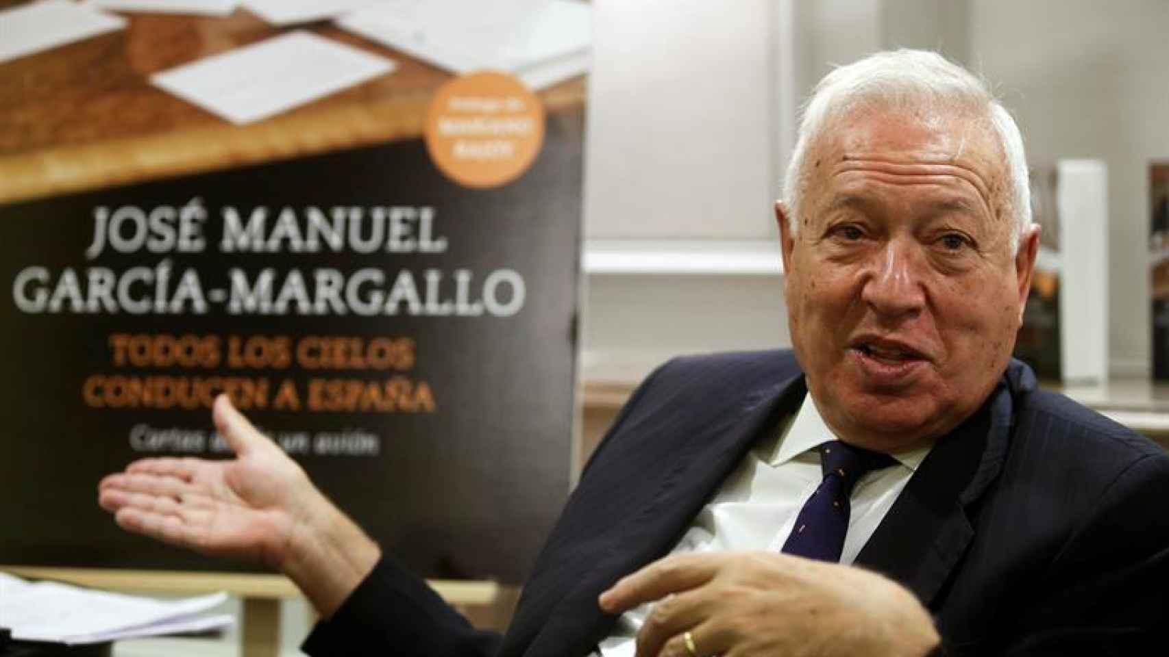 José Manuel García-Margallo, durante la presentación de su libro.