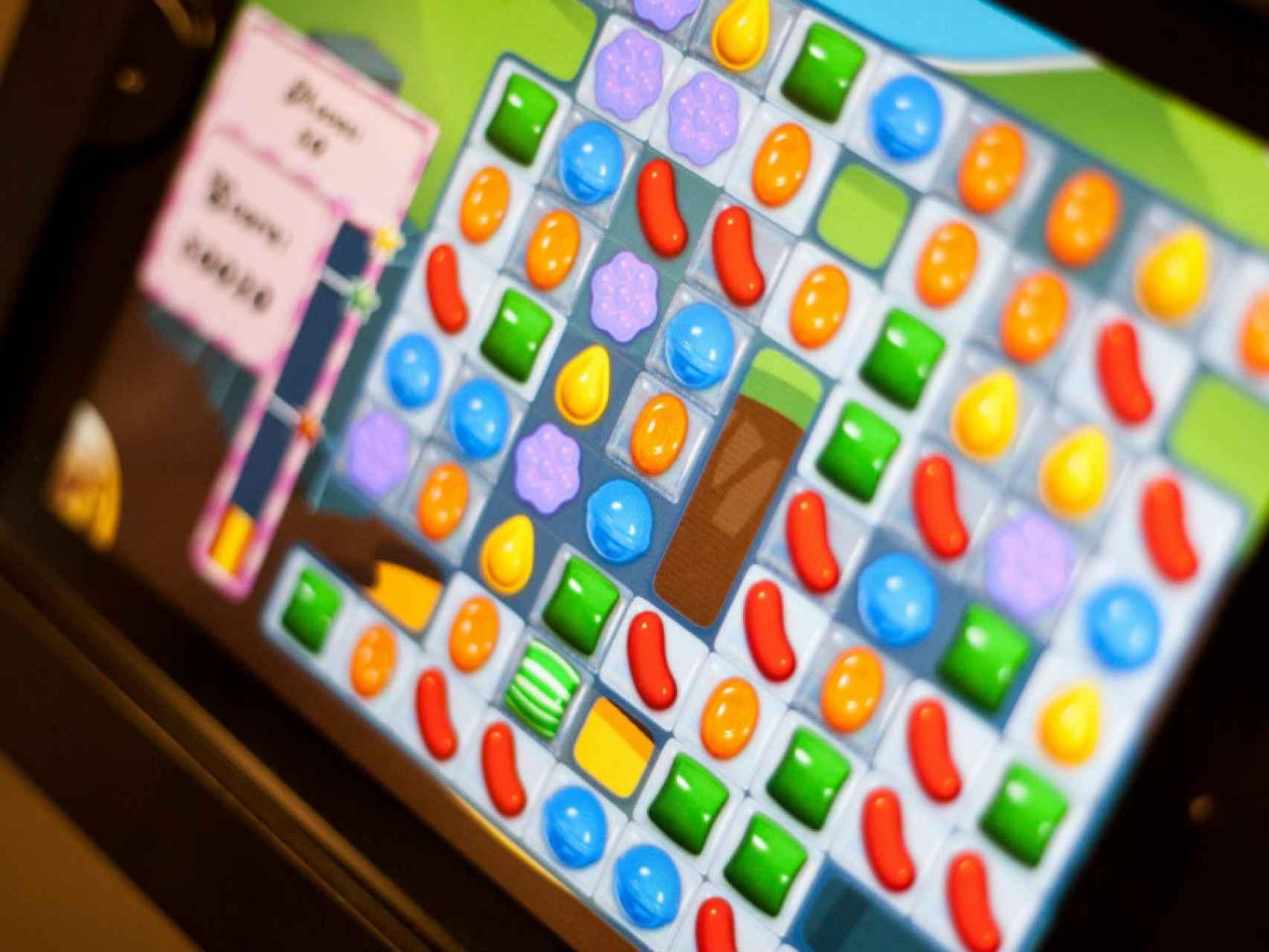 Activision Blizzard es el dueño de King, la creadora del juego Candy Crush Saga.