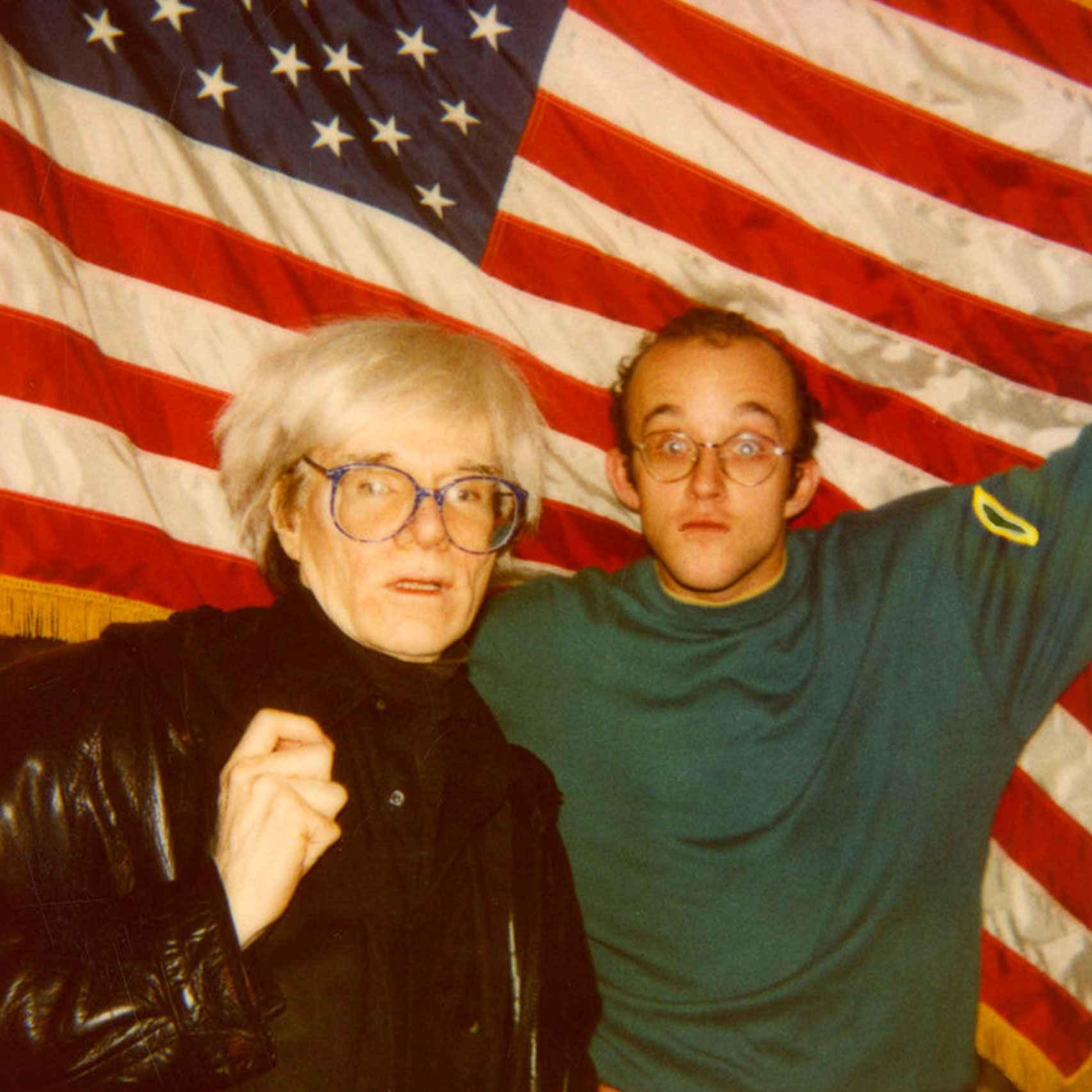 Warhol y Haring.