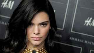 Kendall Jenner en el desfile de Balmain para H&M
