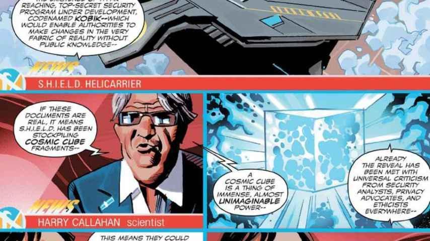 Paco Maruhenda encantado con Frank Marhuender, nuevo personaje del Capitán América