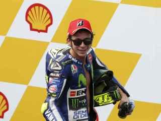 Valentino Rossi, después de la prueba en Sepang.