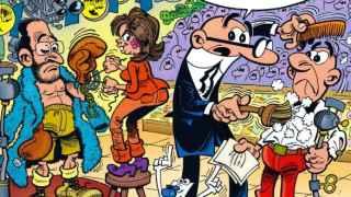 Ya sabes a quien votar: a Mortadelo y Filemón
