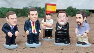 Iglesias y Sánchez ya tienen su 'caganer'