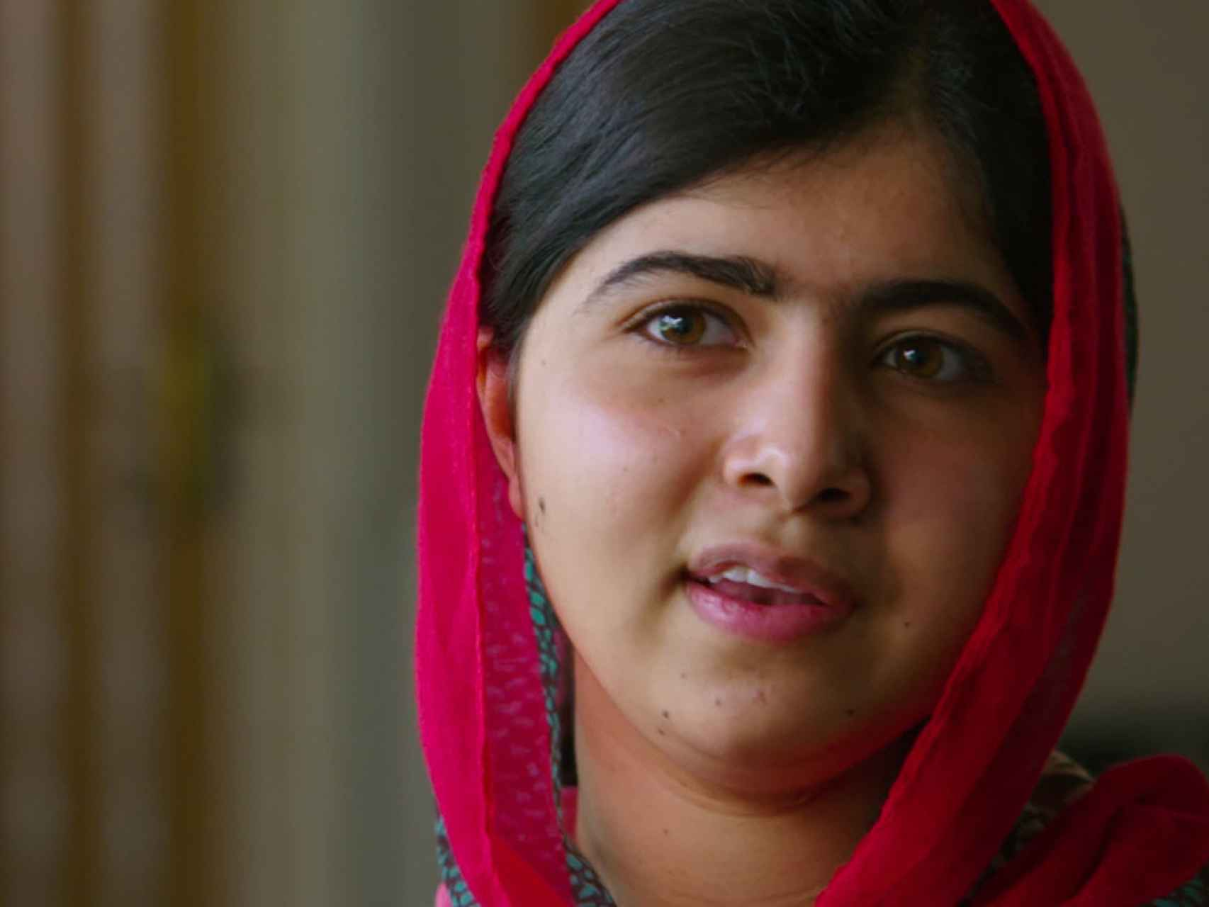 Malala, en un momento del documental.