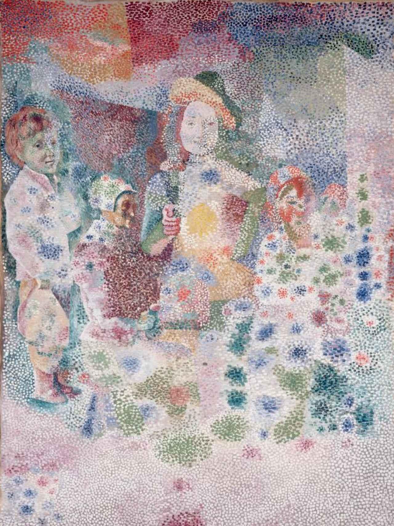 La familia feliz, de Picasso.