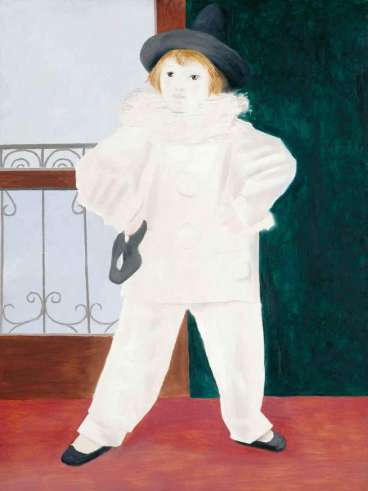 Paul vestido de Pierrot, de Picasso.