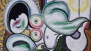 Desnudo acostado, de Picasso.