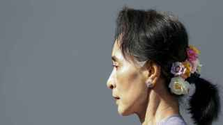 La líder de la Liga Nacional por la Democracia, Aung San Suu Kyi.