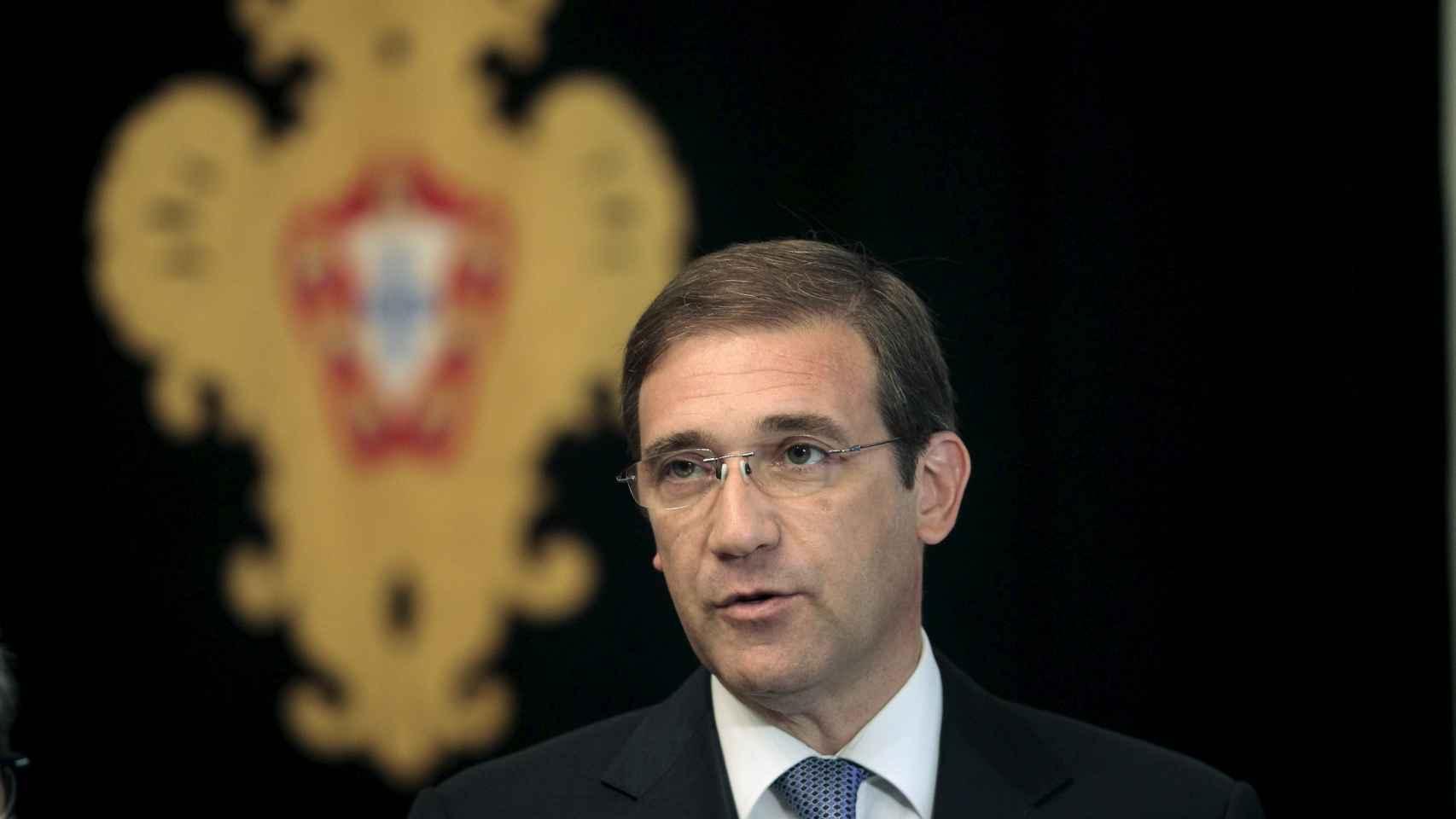 Pedro Passos Coelho, primer ministro de Portugal.