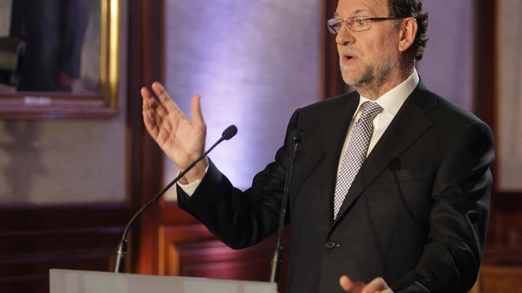 Rajoy, durante su intervención en Béjar.