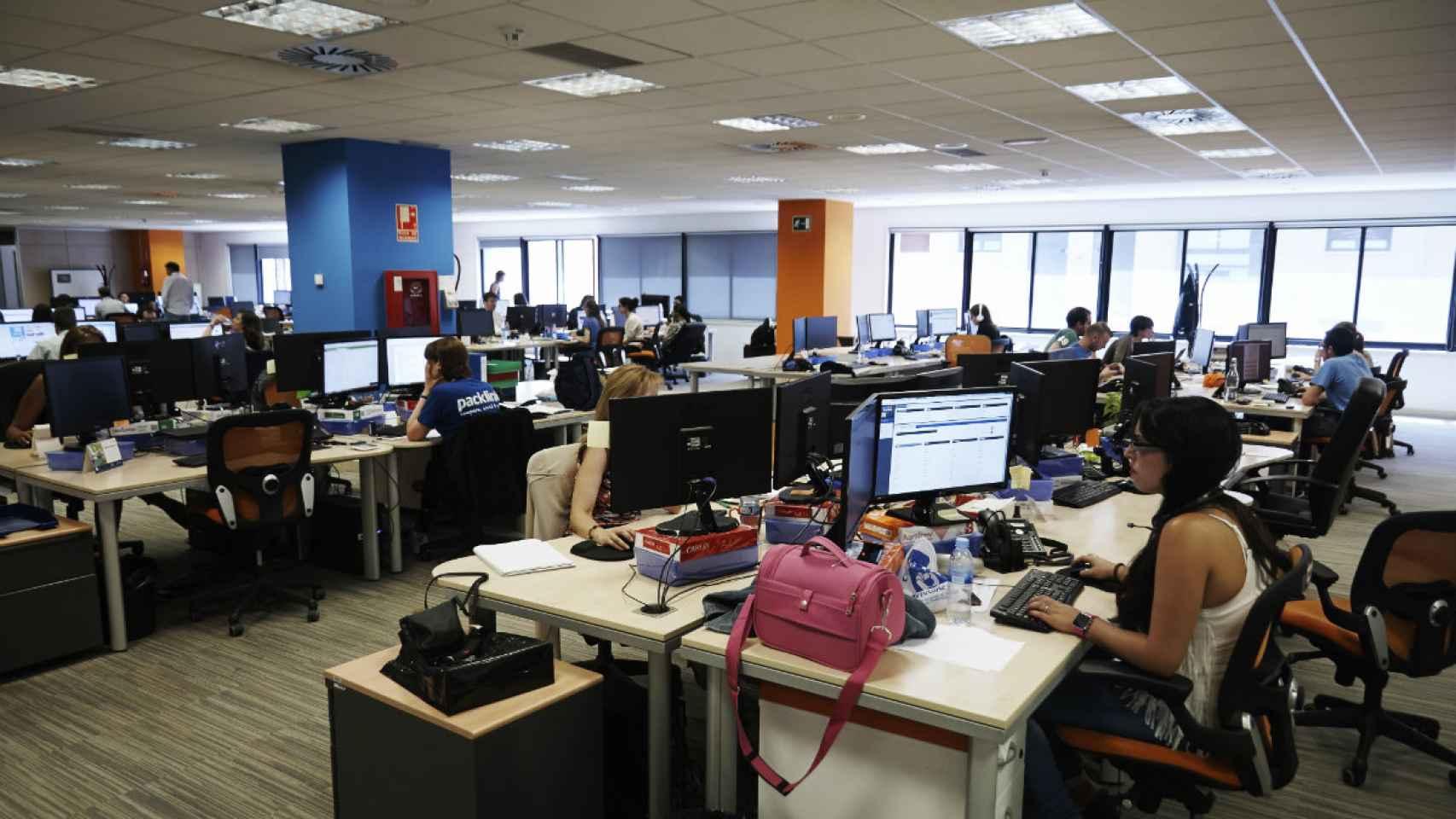 Tiene 100 trabajadores en plantilla en su única sede en Madrid.