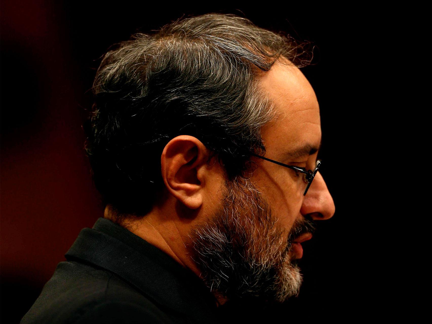 Antonio Baños durante su intervención