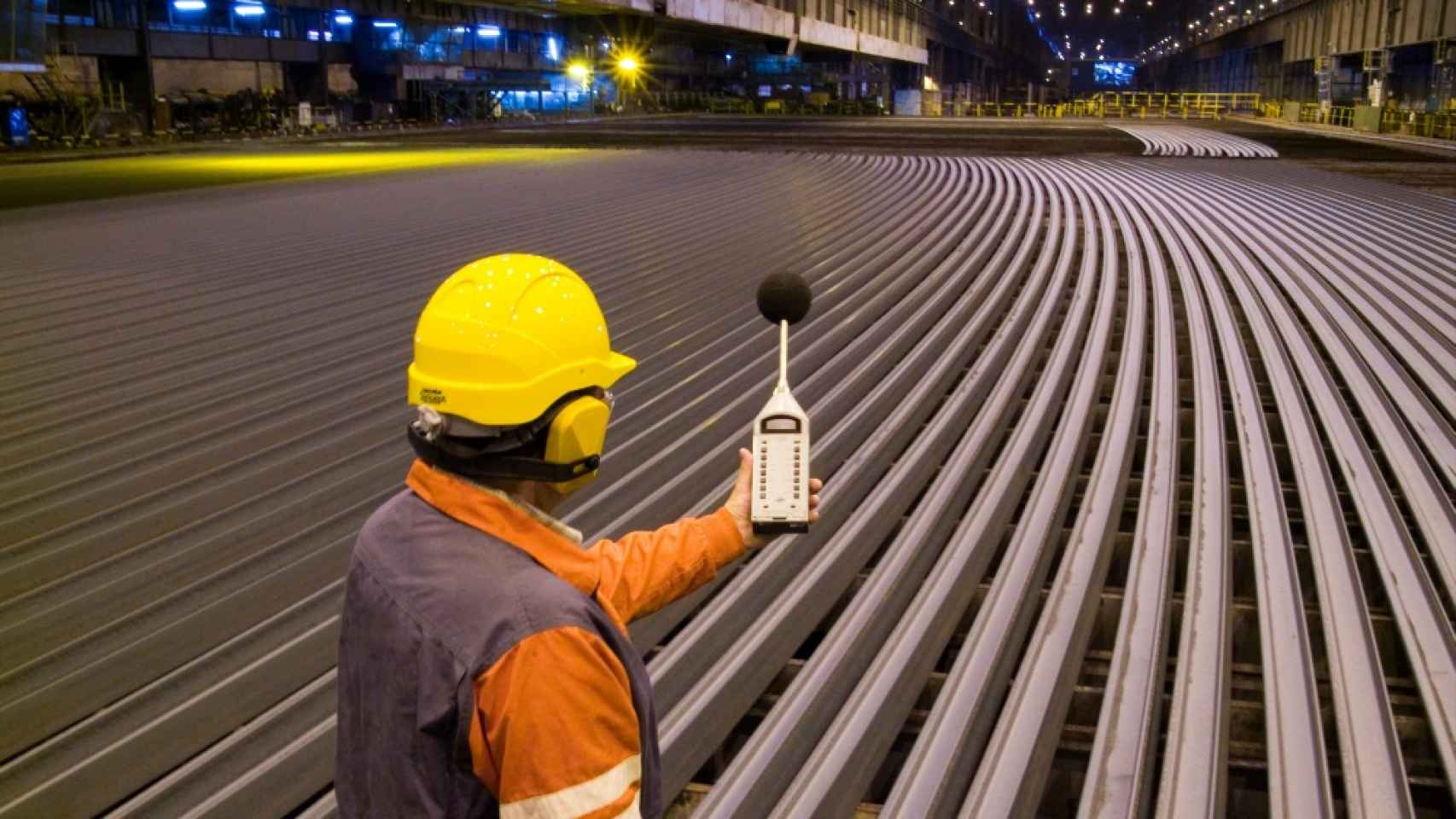Planta de ArcelorMittal en Gijón
