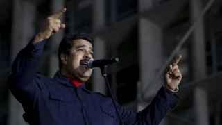 Nicolás Maduro durante un discurso en Caracas el pasado 26 de octubre