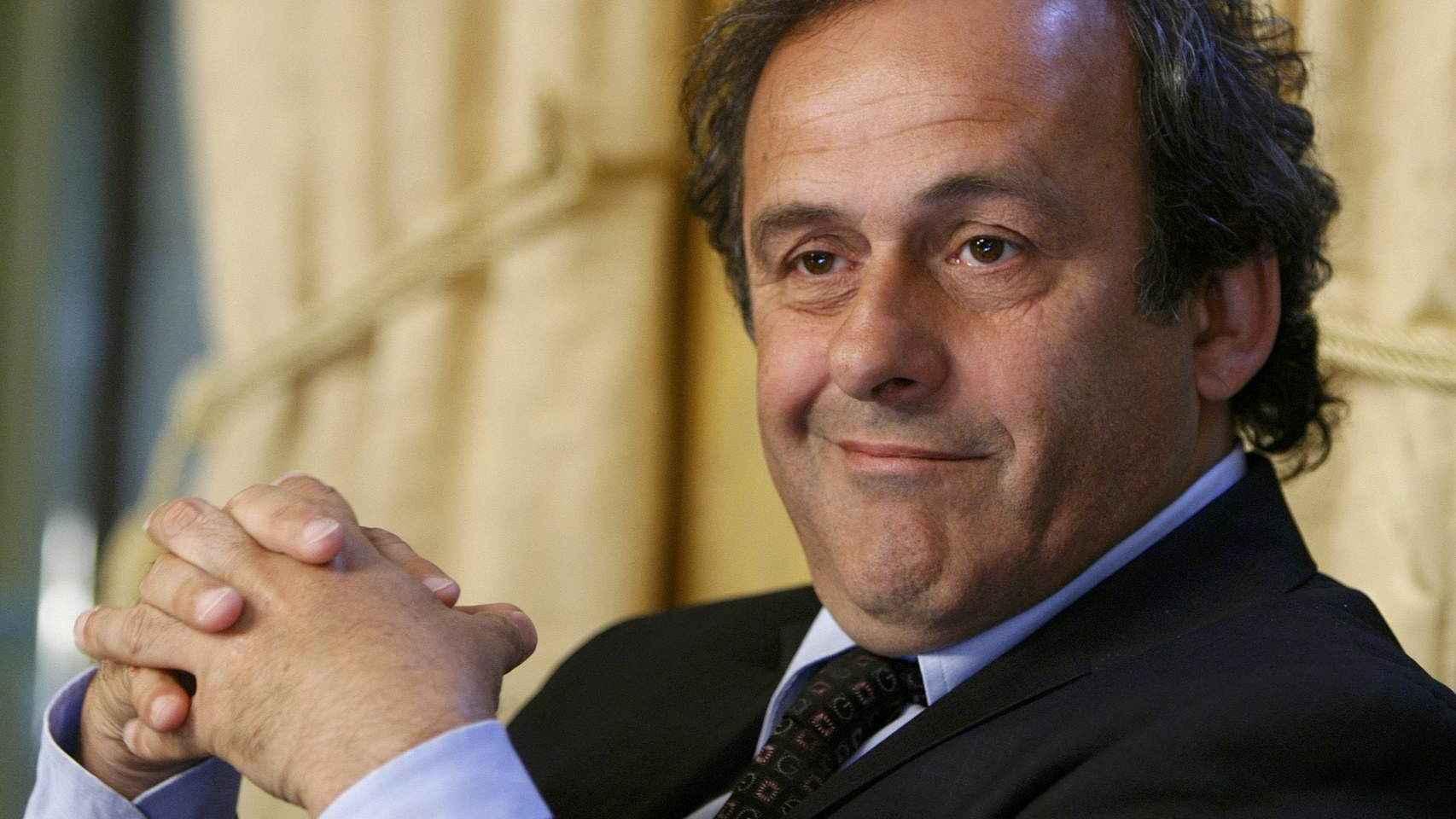 La candidatura de Michel Platini no ha sido aceptada por el Comité electoral.