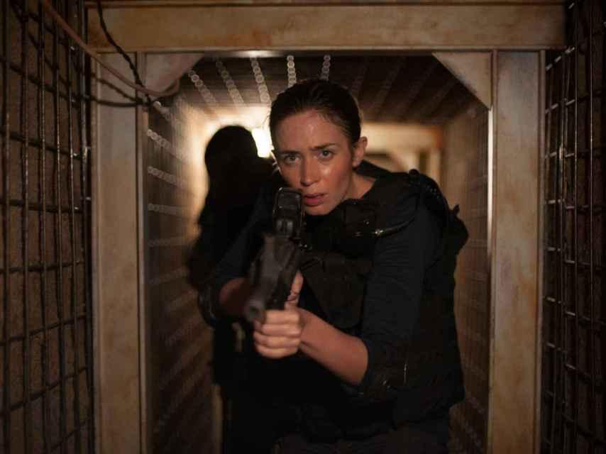 Emily Blunt, en el papel de la agente Kate Macy.