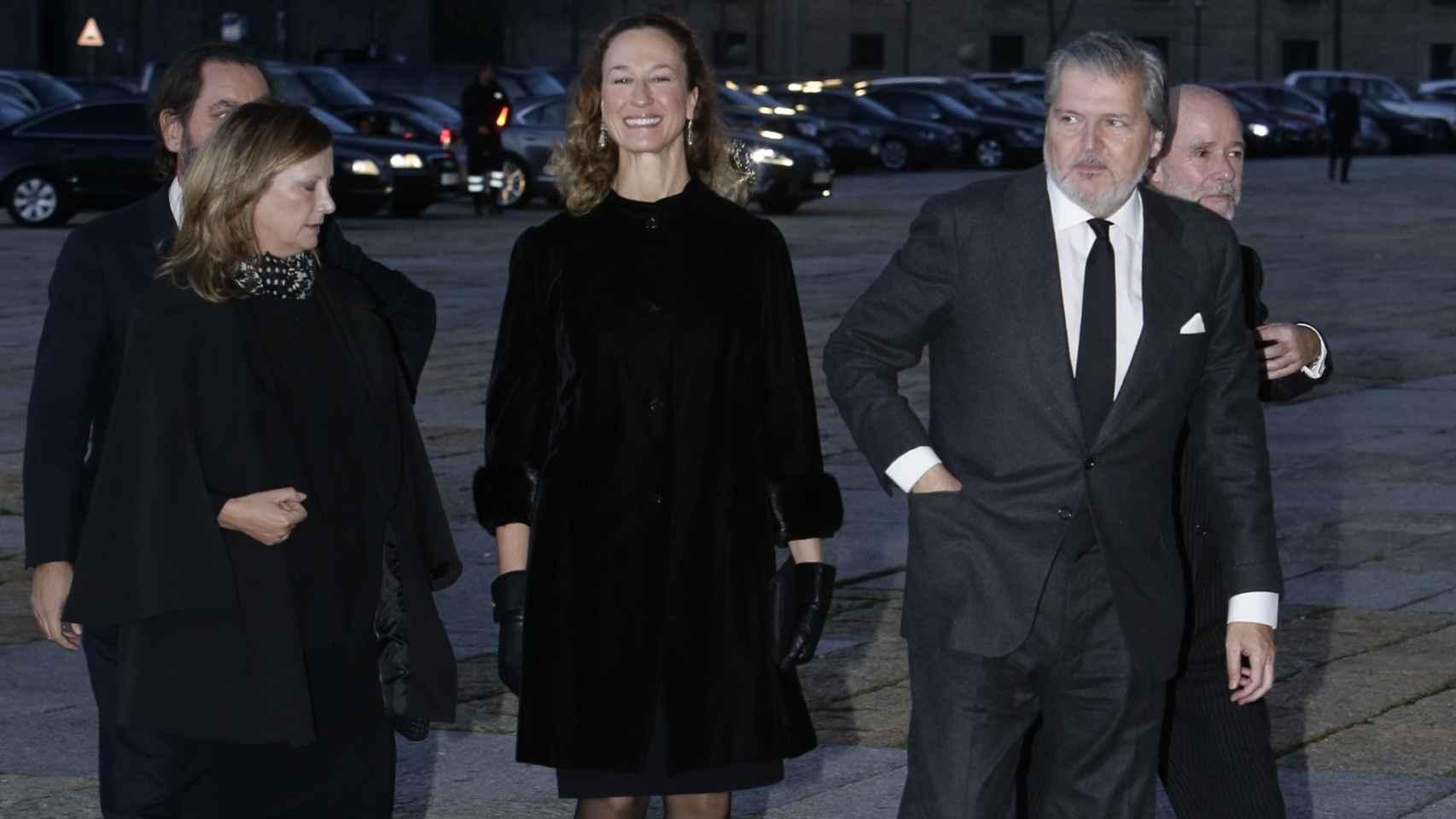 El Ministro de Cultura en el funeral del Infante Don Carlos