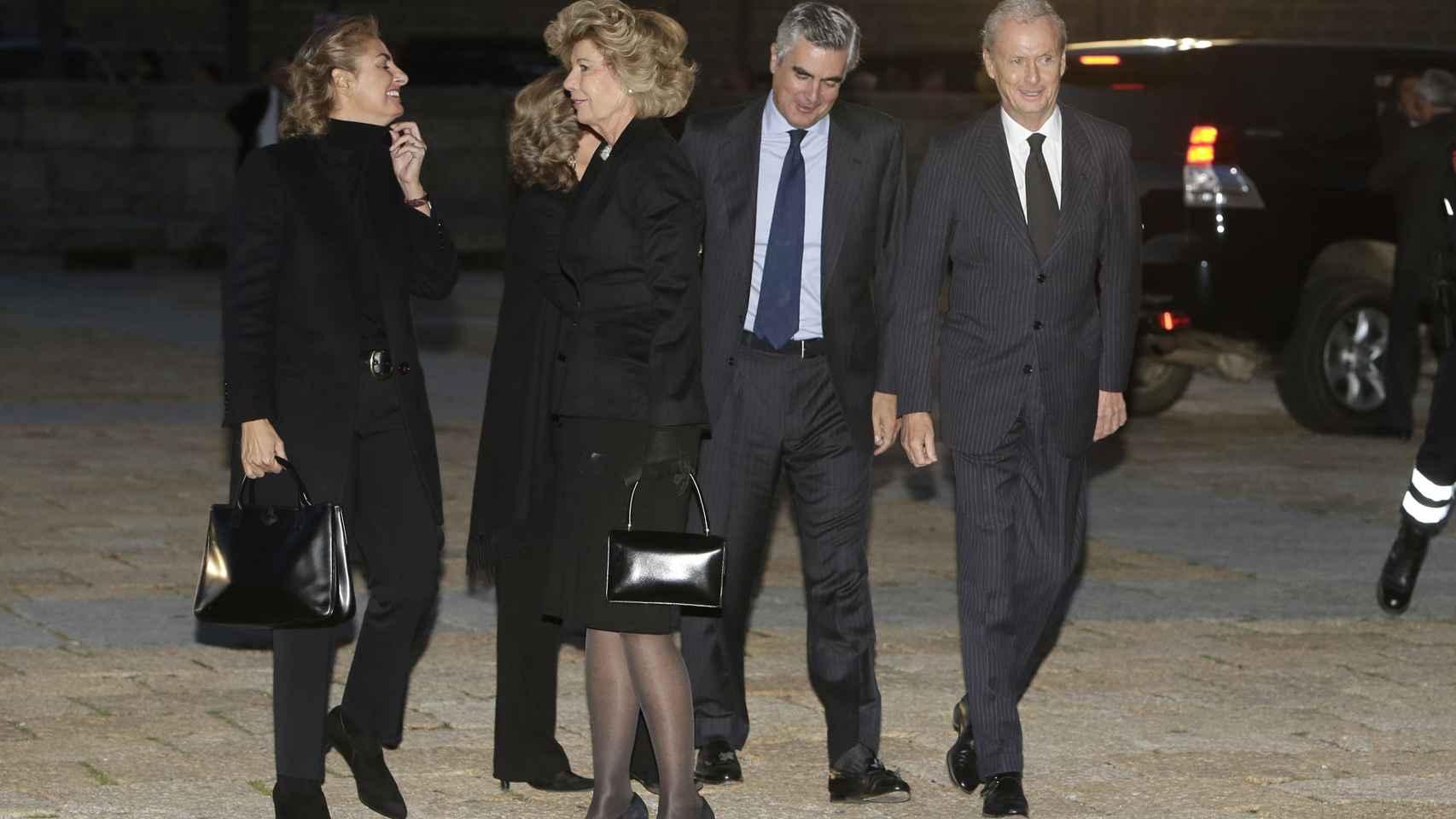 Pedro Morenés y su mujer Goretti Escauriaza Barreiro
