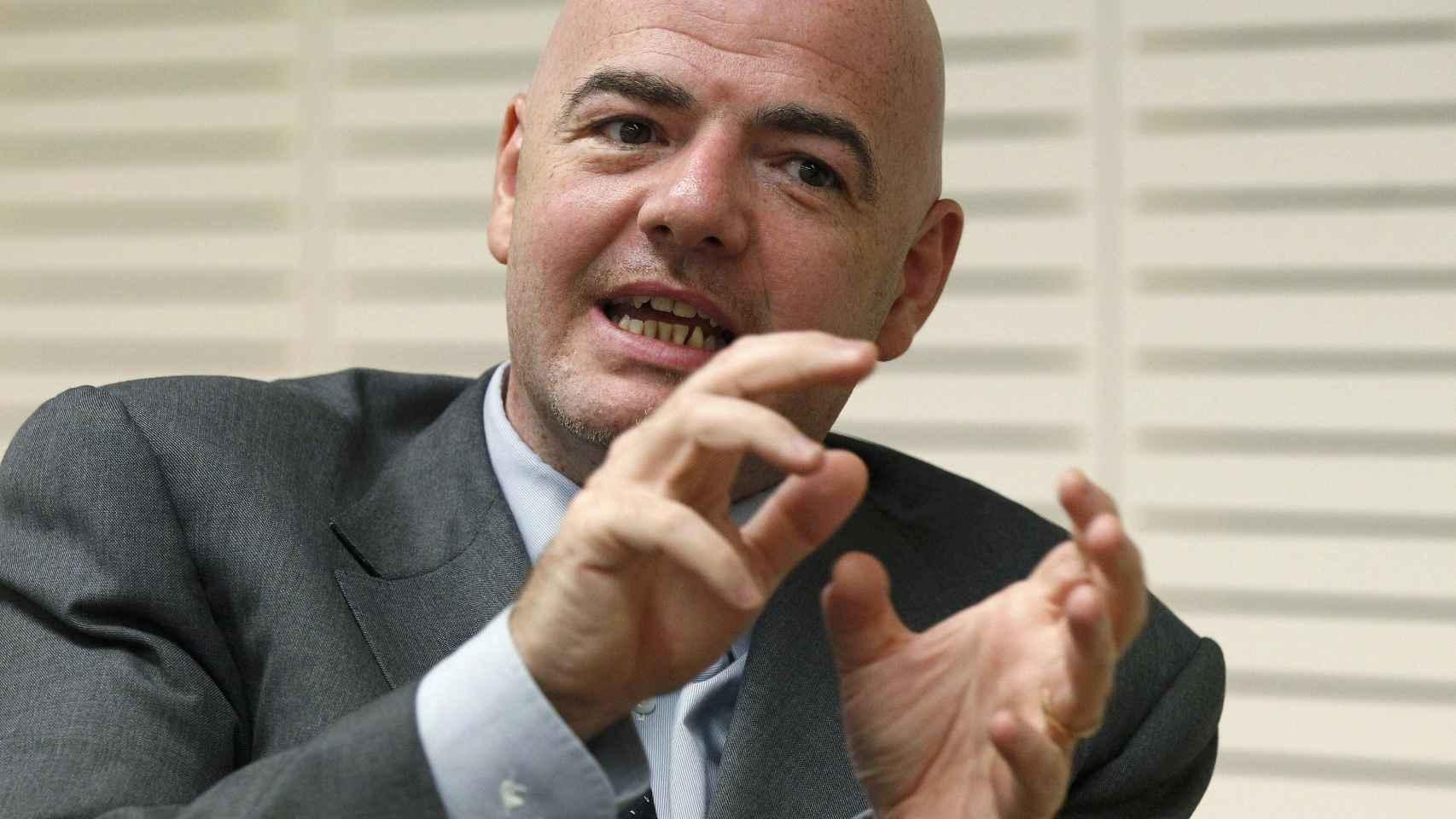 La candidatura de Infantino se presentó ante la opción de que desecharan la de Platini.