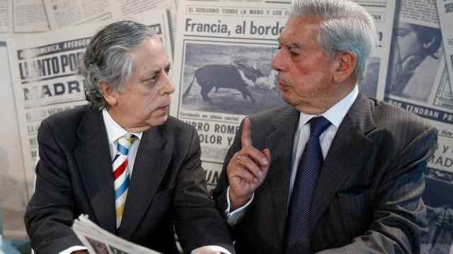 Miguel Ángel Aguilar y Mario Vargas Llosa