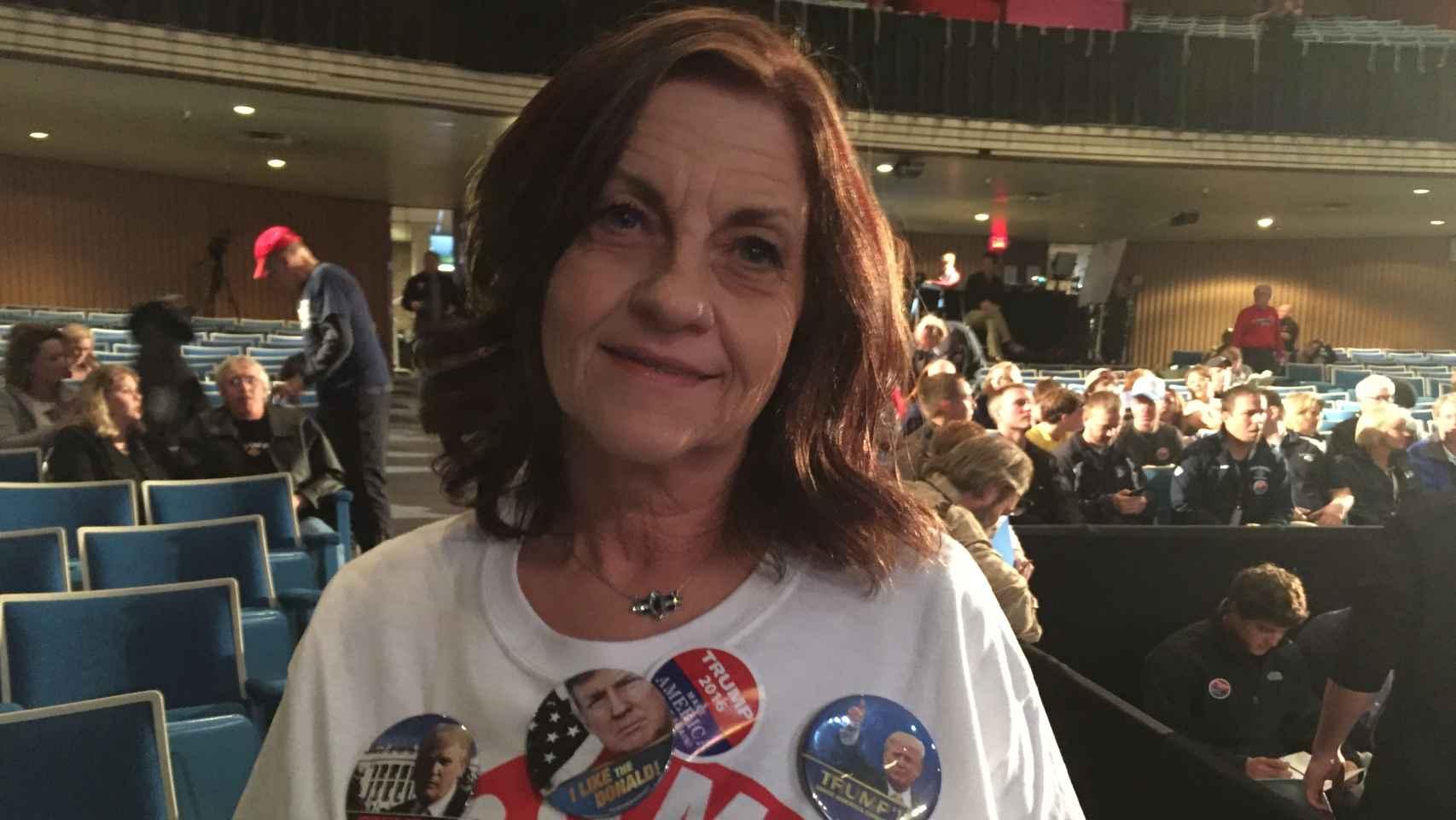 Carolyn Berndt, seguidora de Trump.