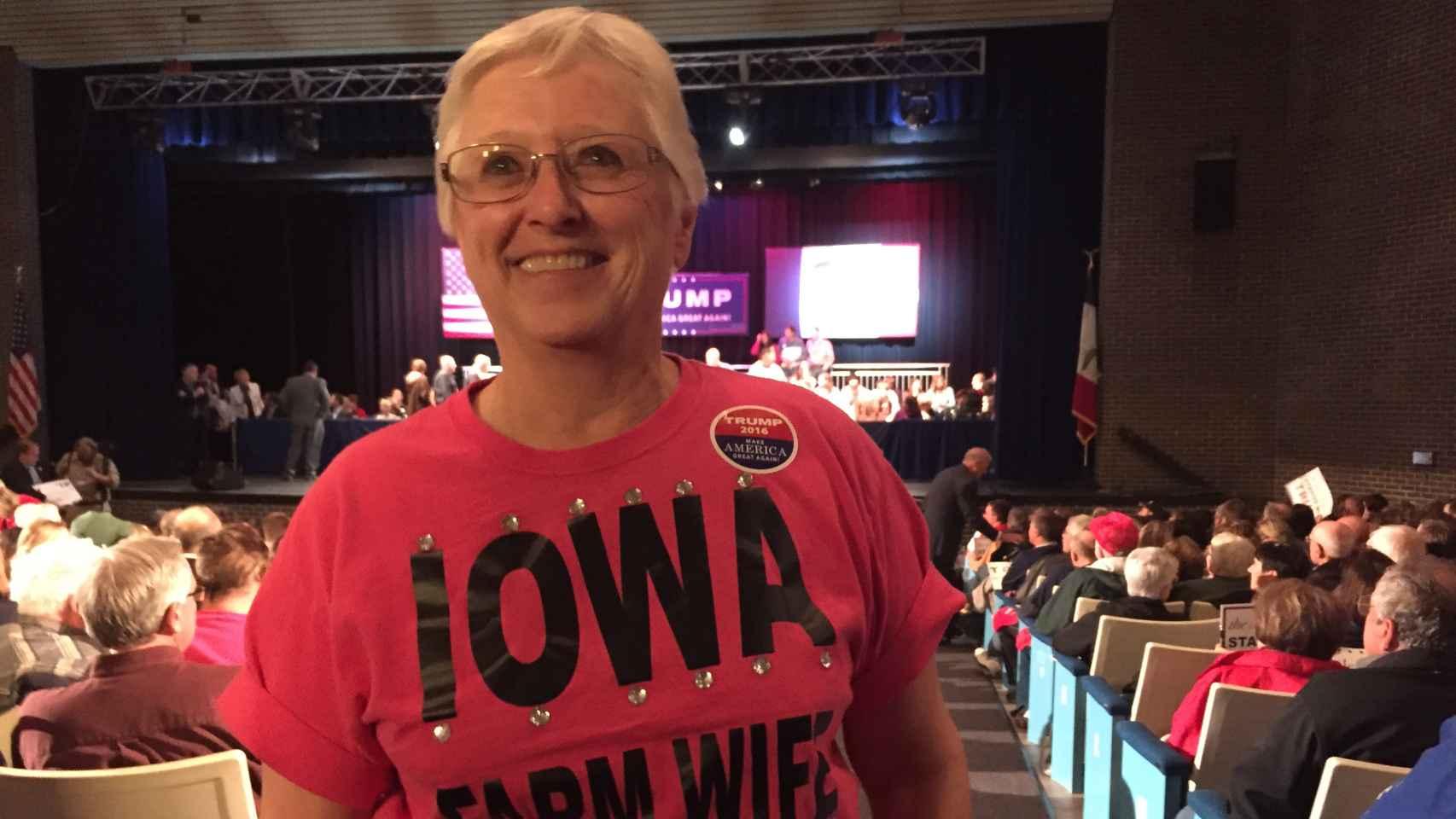 Dianne Jorgenson, seguidora de Trump.
