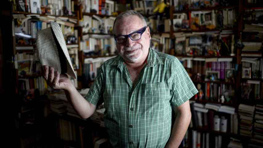 Fernando Savater, de paso en Madrid, se ha instalado definitivamente en San Sebastián