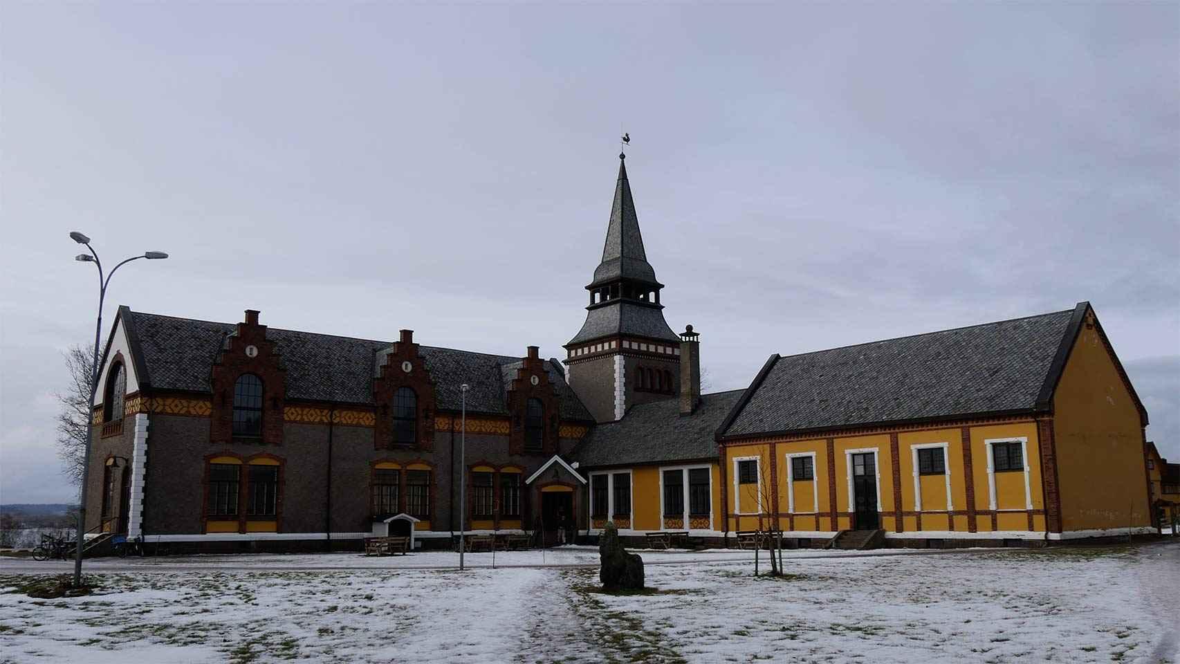 La iglesia de Bastoy.