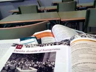 Muchos alumnos apenas abordan el tema de Franco en la escuela.