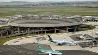 Imagen del Aeropuerto Charles de Gaulle de París.