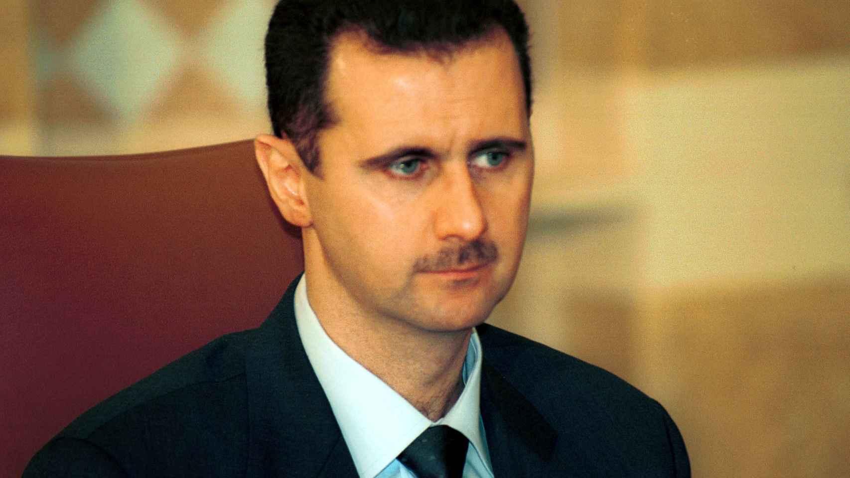 Bashar al Asad está acusado de bombardear a su propia población civil.