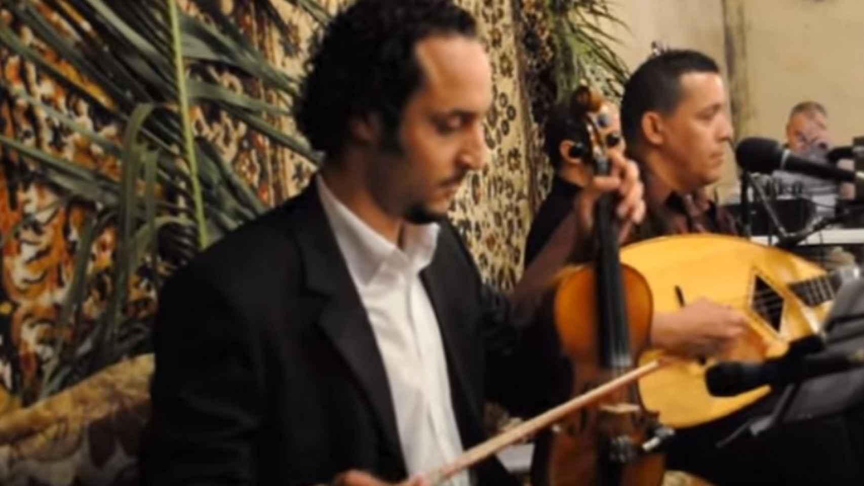 Kheireddine Sahbi, violinista