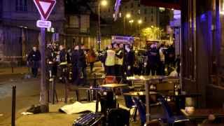 Exteriores de uno de los restaurantes parisinos en los que se produjeron los ataques