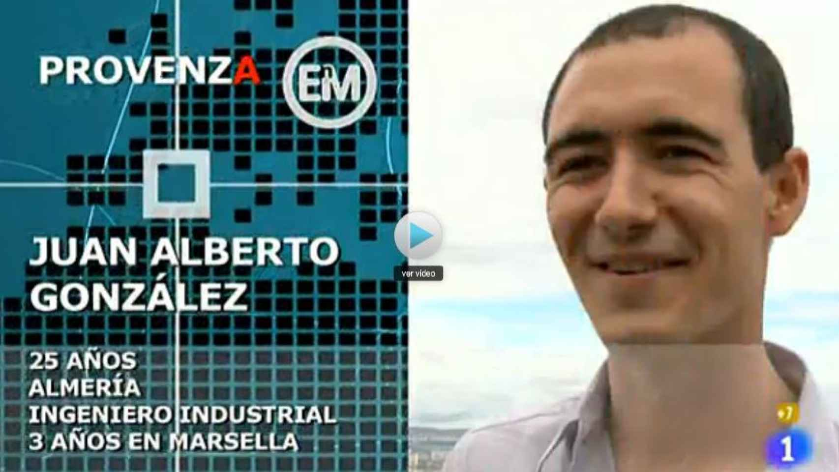 Juan Alberto González en una imagen del programa 'Españoles por el mundo'