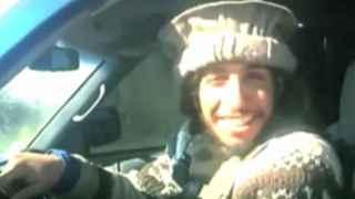 Imagen de Abdelhamid Abaaoud extraida de un vídeo de EI.