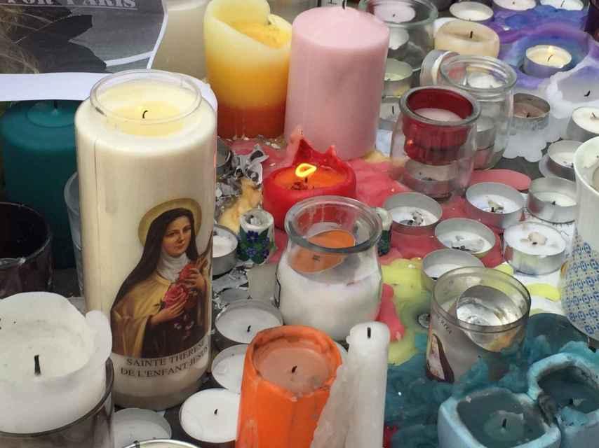 Una vela religiosa.