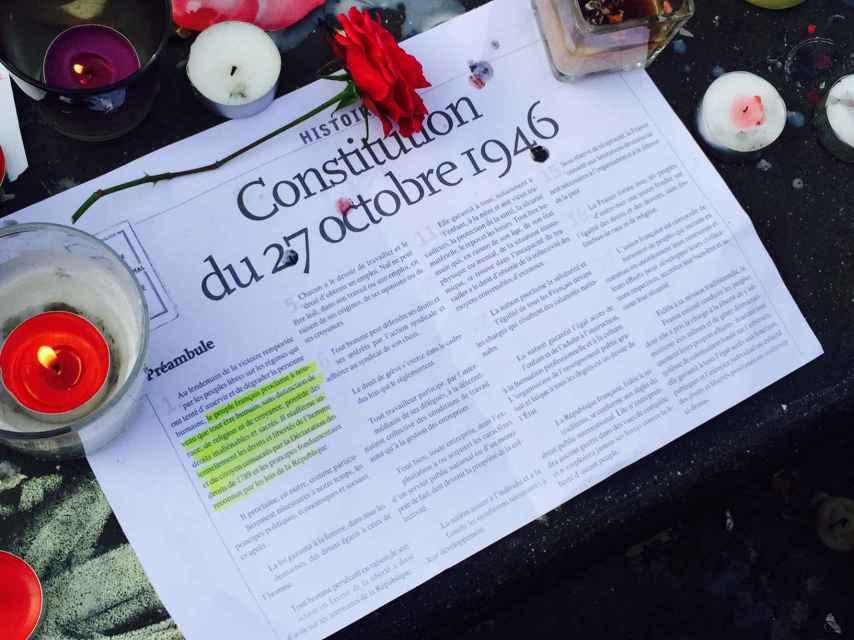 Una constitución.