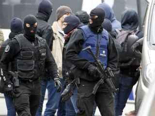 Redada de las fuerzas especiales de la Policía belga.