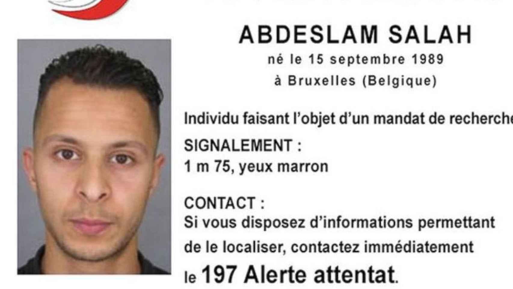 Imagen distribuida por la policía francesa