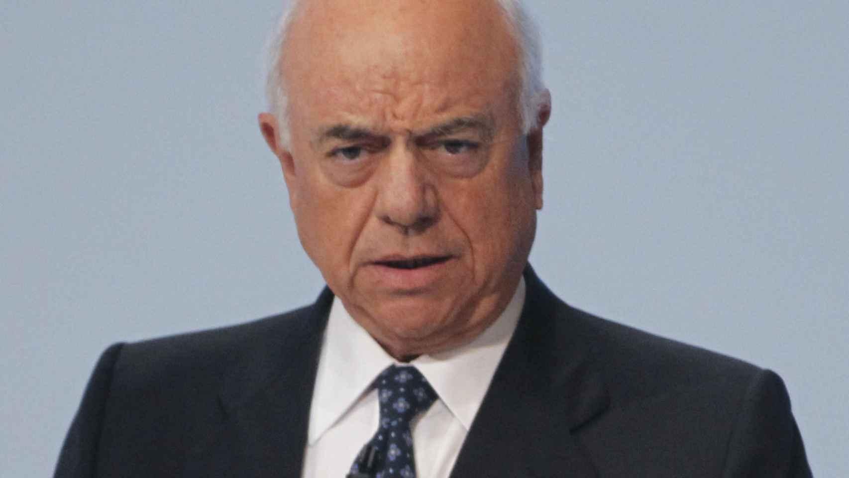 Francisco González, expresidente de BBVA