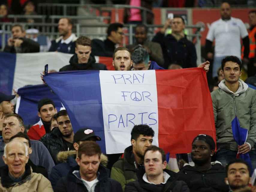 Un momento del partido amistoso entre Inglaterra y Francia.