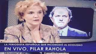 Pilar Rahola, heroína española de la derecha argentina