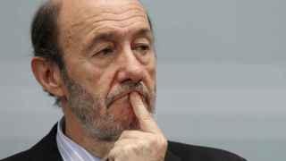 El exlíder del PSOE Alfredo Pérez Rubalcaba.