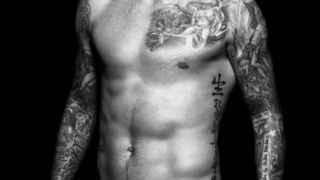 David Beckham con su propia colección de calzoncillos para H&M