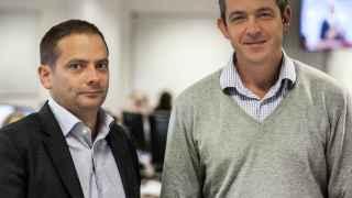 Salvador García y Juan Lobato, cofundadores de EBury.