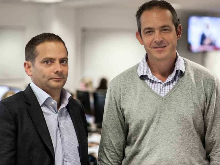 Los cofundadores del proyecto, Salvador García y Juan Lobato.