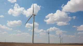 Un parque eólico de Enel en EEUU.
