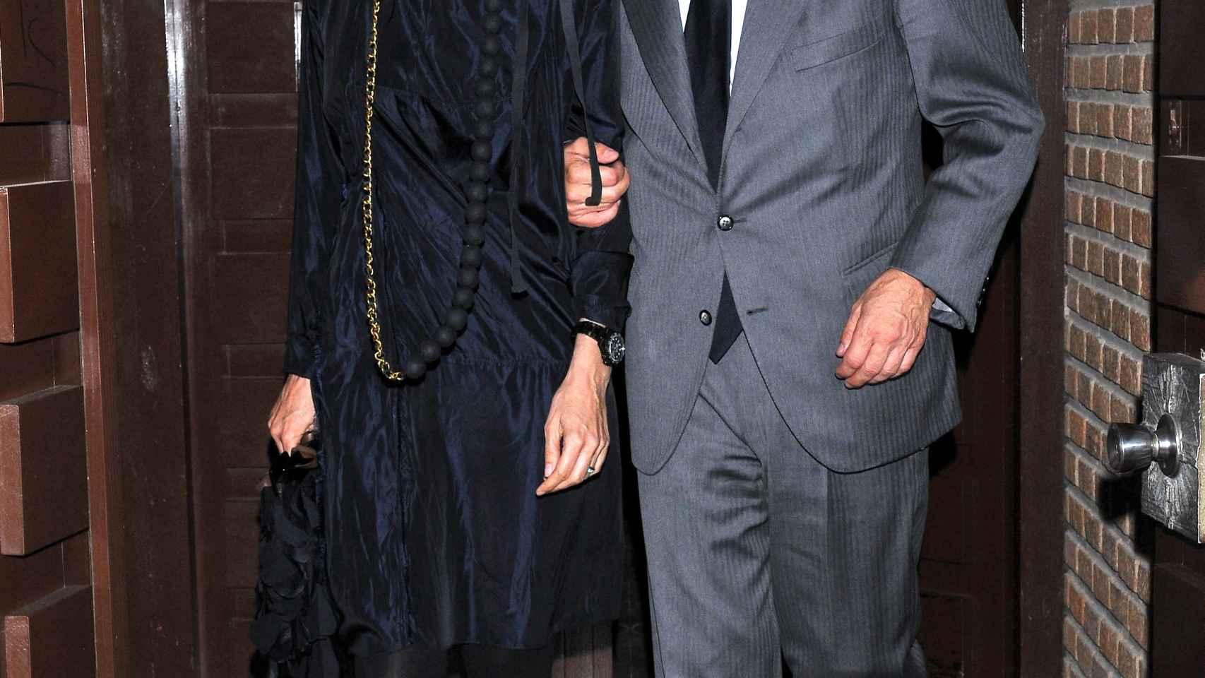 Juan Antonio Samaranch y su mujer, la bella Cristina Bigelli