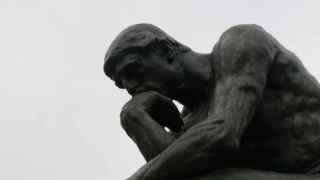El pensador del escultor Auguste Rodin.